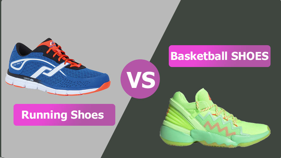Running Shoes vs Basketball shoes