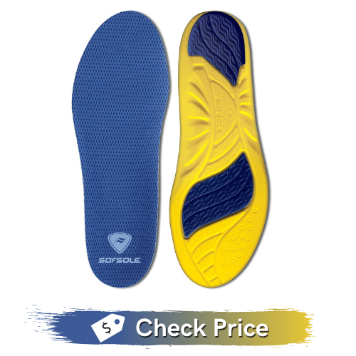 Sof Sole Insoles Men's ATHLETE Performance Full-Length