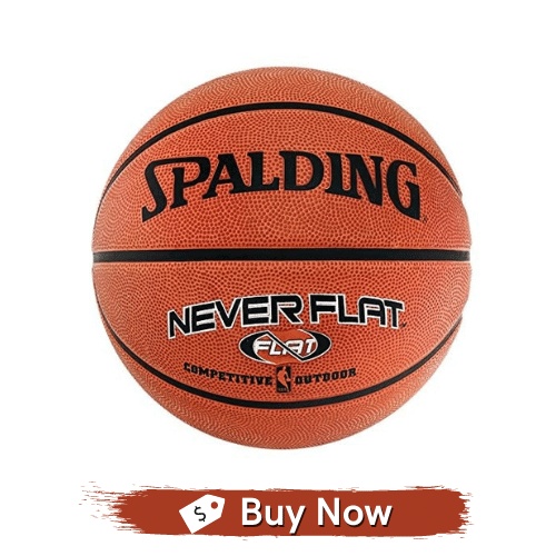 Spalding Never Flat Outdoor Official Size Basketball